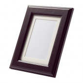 VIRSERUM Frame, dark brown - 802.216.39