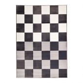 VRÅBY Rug, low pile, gray/white - 302.836.77
