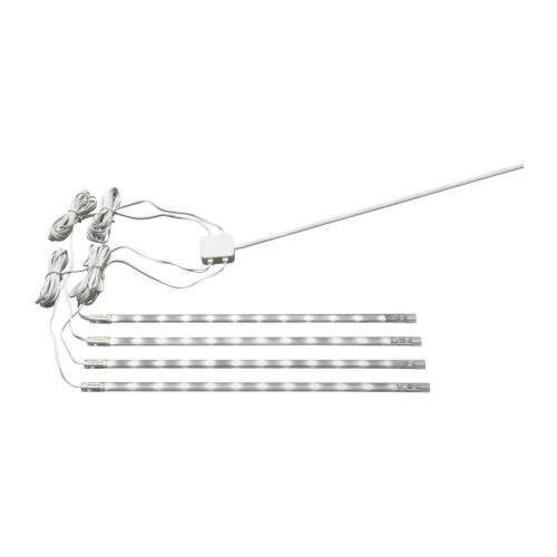 DIODER LED 4-piece light strip set, white - 201.194.18