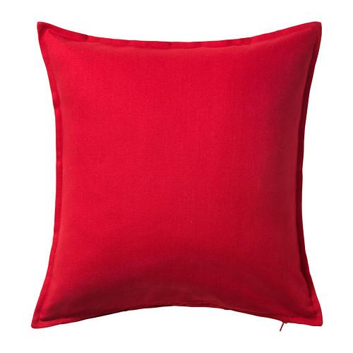 GURLI Cushion cover, red - 702.811.48