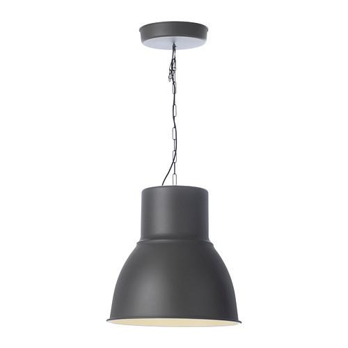 HEKTAR Pendant lamp, dark gray $69.99 - 802.165.34