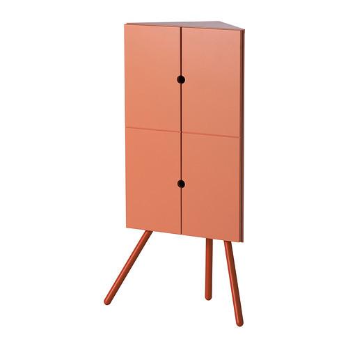 IKEA PS 2014 Corner cabinet, pink - 602.606.98