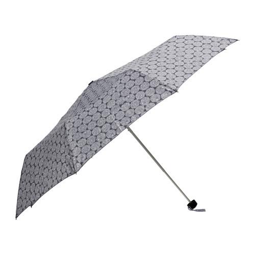 KNALLA Umbrella, foldable gray/white - 103.133.93