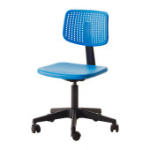 ALRIK Swivel chair, blue - 402.141.17