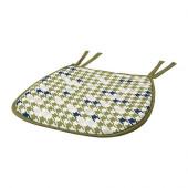 ANNVY Chair pad, green - 302.515.15