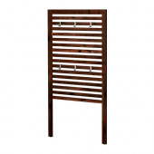 ÄPPLARÖ Wall panel, outdoor, brown stained brown - 802.049.27