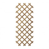 ASKHOLMEN Trellis, gray-brown stained gray-brown - 702.586.71