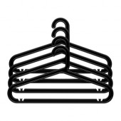 BAGIS Hanger, indoor/outdoor, black - 201.970.86
