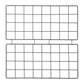 BARSÖ Trellis, square pattern, black - 402.912.62