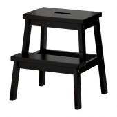 BEKVÄM Step stool, black - 301.788.84