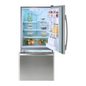 BETRODD Bottom freezer, Stainless steel - 902.887.52