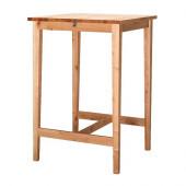 BJÖRKUDDEN Bar table, birch - 900.875.41