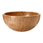 BLANDA MATT Serving bowl, bamboo - 602.143.43