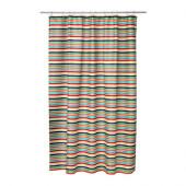 BOKVIK Shower curtain, multicolor - 802.952.77