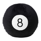 BOLLSINNE Soft toy, black - 302.829.51