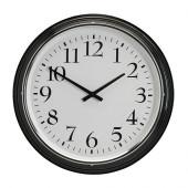 BRAVUR Wall clock, black - 600.989.75