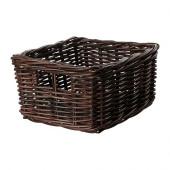 BYHOLMA Basket, brown - 402.093.66