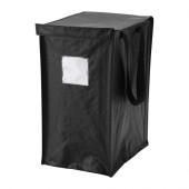 DIMPA Recycling bag, gray-black - 302.916.39