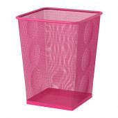 DOKUMENT Wastepaper basket, pink - 202.194.70