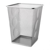 DOKUMENT Wastepaper basket, silver color - 801.532.54