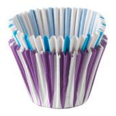 DRÖMMAR Baking cup, paper, blue/lilac lilac - 702.081.29