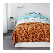 DUVTRÄD Bedspread/blanket, orange - 002.996.32