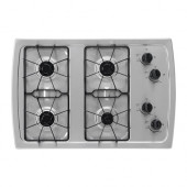 ELDIG 4 burner gas cooktop, Stainless steel - 202.887.03