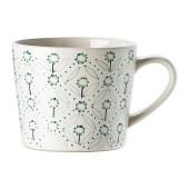ENIGT Mug, off-white, green - 002.347.68