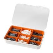 FIXA 260-piece screw and plug set - 001.692.49