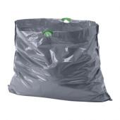 FÖRSLUTAS Trash bags, gray - 302.575.41