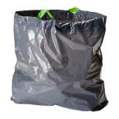 FÖRSLUTAS Trash bags, gray - 102.575.42