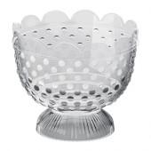 FÖRTJUST Tealight holder, clear glass - 602.142.82