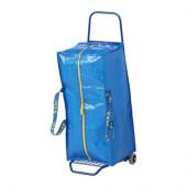 FRAKTA Hand cart with storage bag, blue - 798.751.97