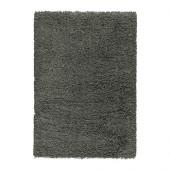 GÅSER Rug, high pile, dark gray - 602.307.91