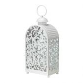 GOTTGÖRA Lantern for block candle, white indoor/outdoor white - 802.361.55