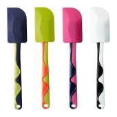 GUBBRÖRA Rubber spatula, green/pink red/green, blue/white - 902.257.31