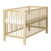 GULLIVER Crib, birch - 102.485.24
