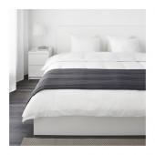 GULLREGN Bed runner, gray - 202.942.90