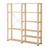 HEJNE 2 sections, softwood - 090.314.17