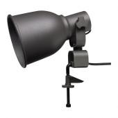 HEKTAR Wall/clamp spotlight, dark gray $14.99 - 502.165.40