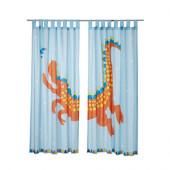 HELTOKIG Pair of curtains, light blue - 302.423.47