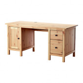 HEMNES Desk, light brown - 502.821.44