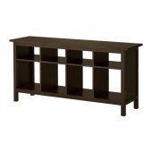 HEMNES Sofa table, black-brown - 002.518.09