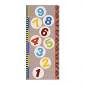 HOPPLEK Rug, low pile, multicolor - 402.399.57