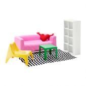 HUSET Doll furniture, living room - 502.631.50