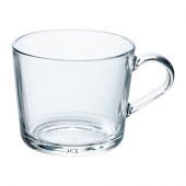 IKEA 365+ Mug, clear glass - 102.797.23