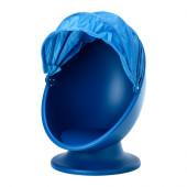 IKEA PS LÖMSK Swivel chair, blue, light blue - 302.642.16
