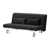 IKEA PS LÖVÅS Sofa bed, Rute black - 498.744.96