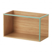 IKEA PS 2014 Storage module, bamboo, light green - 702.683.97