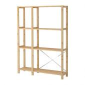 IVAR 2 sections/shelves, pine - 998.963.87